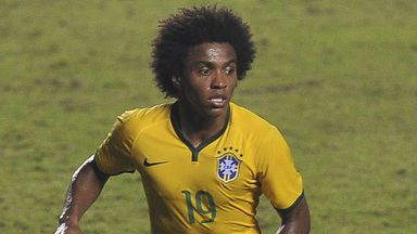 Willian: Brazil midfielder may replace injured Neymar against Germany