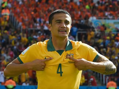 Tim Cahill: Scored 56 goals in 226 appearances for Everton