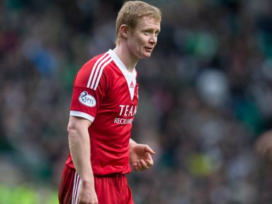 Aberdeen's Barry Robson: Returns to the squad