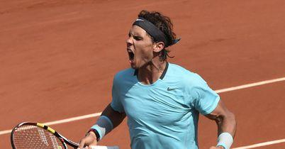 Nadal rules in Paris again