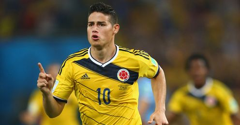 James Rodriguez: The Colombian star has joined Real Madrid