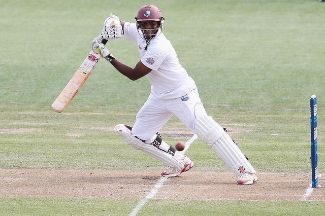 Shivnarine Chanderpaul: Saw Derbyshire to victory