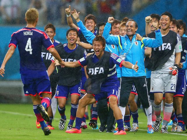 Japan: Hoping to bounce back from Ivory Coast defeat