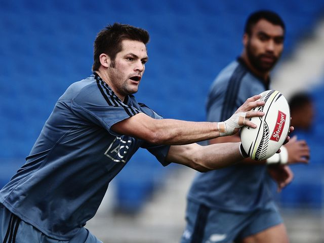 Richie McCaw: Wants improvement