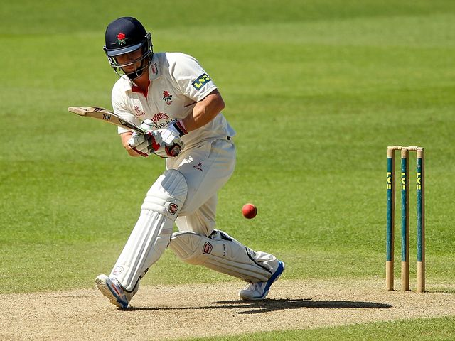 Steven Croft: Impressive performance for Lancashire