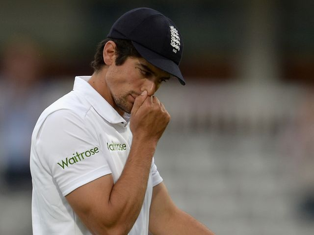 England captain Alastair Cook reflects on a near miss at Lord's