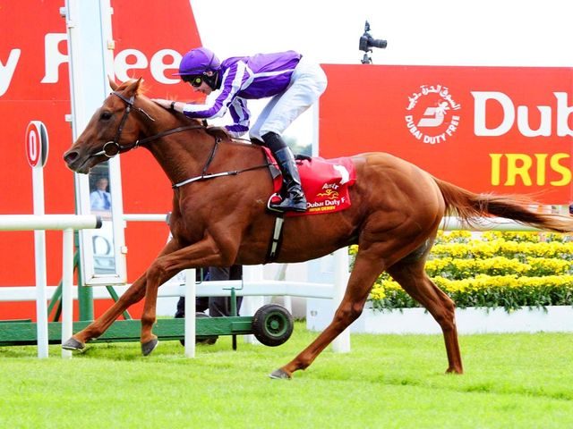 Australia and Joseph O'Brien win the Dubai Duty Free Irish Derby