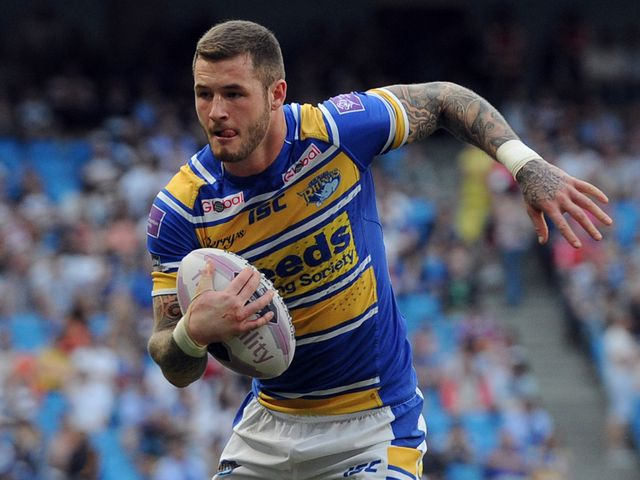 Zak Hardaker: Scored a try for Leeds Rhinos
