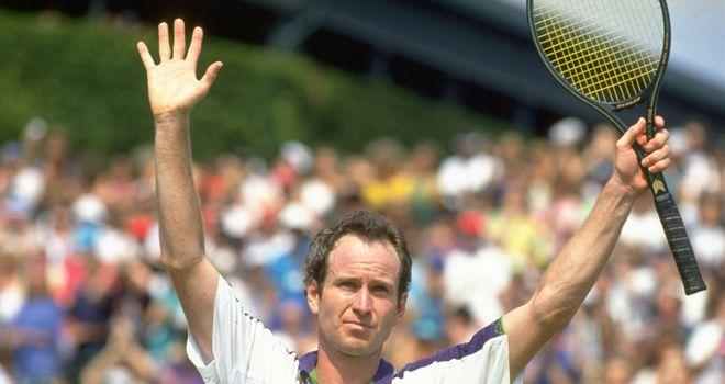John McEnroe was always entertaining, says Petch