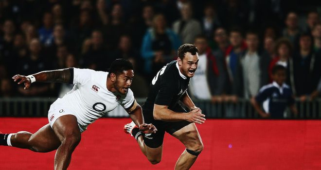 Manu Tuilagi (left) could be switched to the wing for the second Test