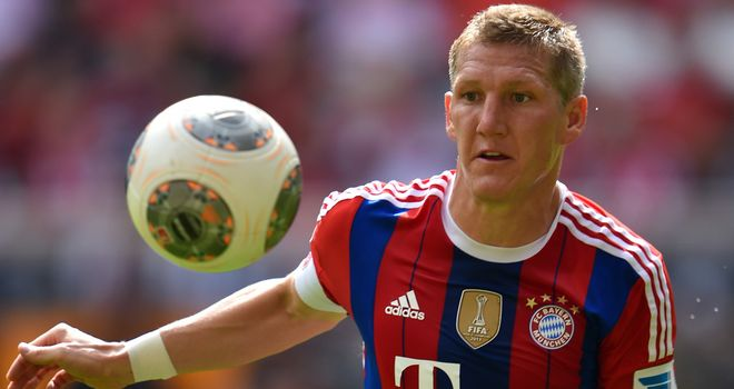 Bastian Schweinsteiger: Ruled out with knee problem