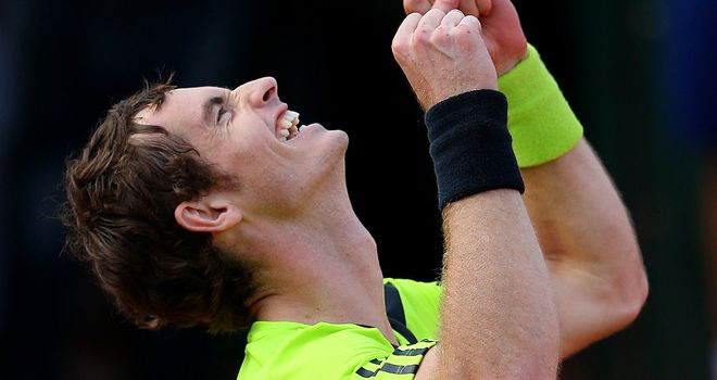 Andy Murray: The British No 1 and world No 8 takes on his good friend Gael Monfils