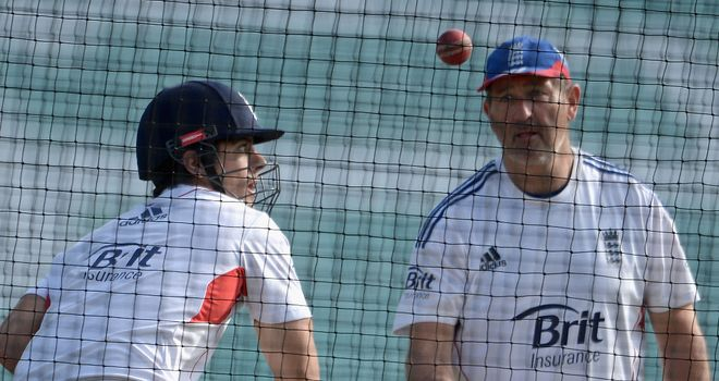 Alastair Cook scored over 8,000 Test runs working with Graham Gooch