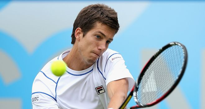 Aljaz Bedene: Played three Davis Cup ties for Slovenia