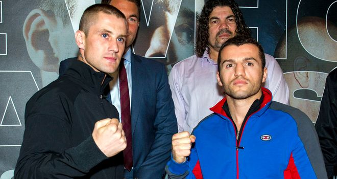 Ricky Burns: To fight Dejan Zlaticanin on Friday