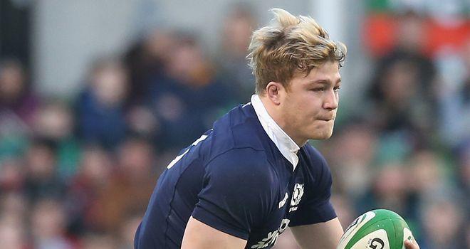 David Denton: Scotland forward out for three months