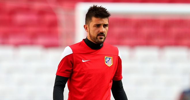 David Villa: Spain international will feature for Melbourne City on loan this year