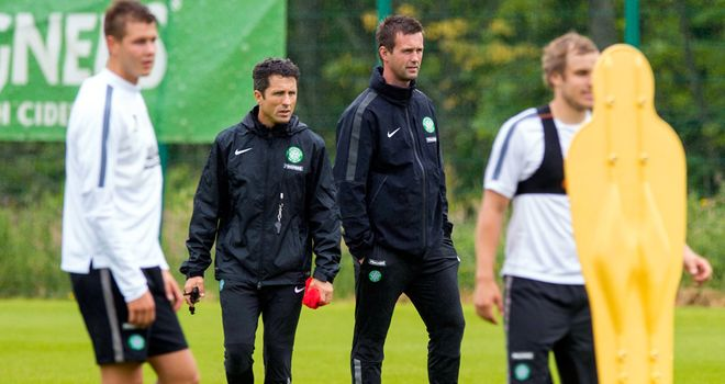 Celtic: New management due Ronny Delia and John Collins take Hoops to Iceland first