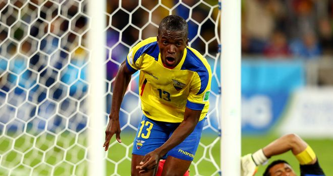 Enner Valencia: Struck twice to seal victory for Ecuador against Honduras