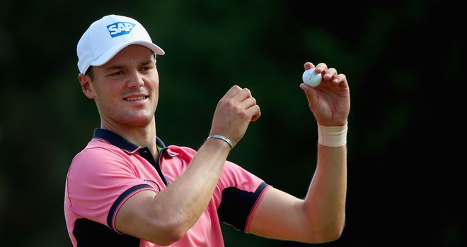 Martin Kaymer: Birdied the final hole of his third round, meaning he leads by five