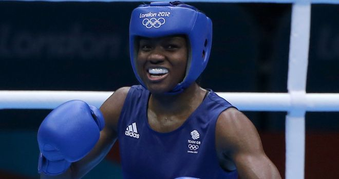 Nicola Adams: No luck for Olympic champion in Bucharest