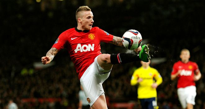 Alexander Buttner: Struggled to settle at Old Trafford