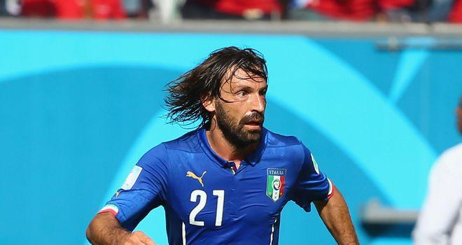Andrea Pirlo: Juventus midfielder failed to inspire Italy in Brazil