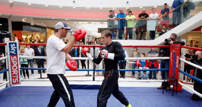 Tony Sims: is Ricky Burns' new trainer and Glenn expects him to rejuvenate his career