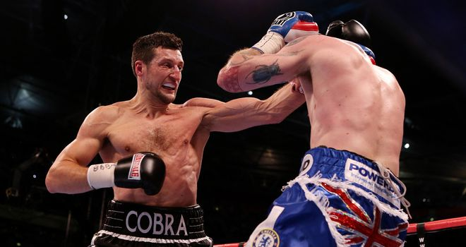 Carl Froch: took the initiative away from Groves from the start, says Jim