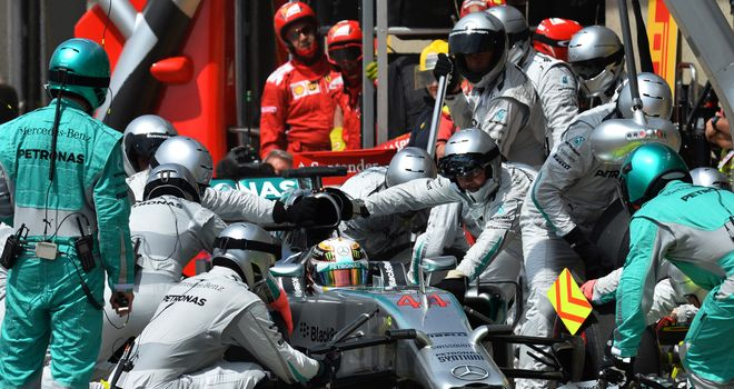 Lewis Hamilton: A pair of sluggish stops in Austria