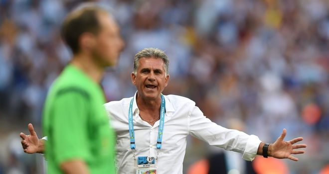 Carlos Queiroz: Disappointed with officials in 1-0 loss to Argentina
