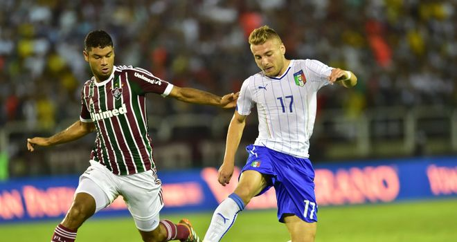Ciro Immobile: On target for Italy
