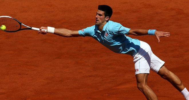 Novak Djokovic: Beat Ernests Gulbis in four sets to reach French Open final