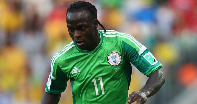 Victor Moses: Will spend the 2014/15 campaign at Stoke
