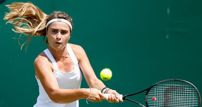Gabriella Taylor: Came through tough task in first round of qualifying