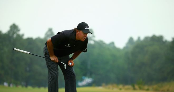 Phil Mickelson: Took 31 putts
