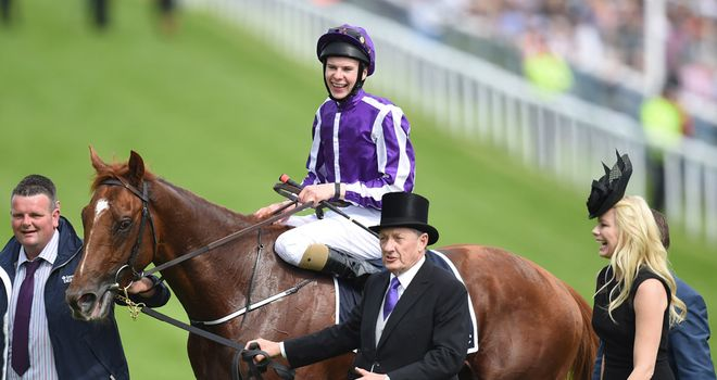 Joseph O'Brien was smiling - but the bookmakers weren't - after the Investec Derby