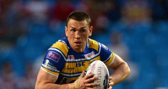 Kevin Sinfield: Is facing up to three games on the sidelines