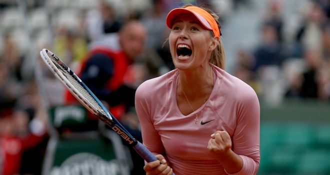 Maria Sharapova: Produced stunning performance in third set against Samantha Stosur