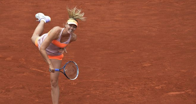 Maria Sharapova: Russian takes on Garbine Muguruza in last eight of French Open