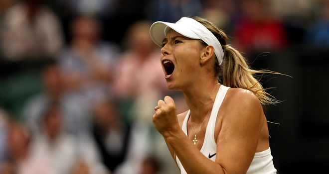 Maria Sharapova: Russian turned on style in second set