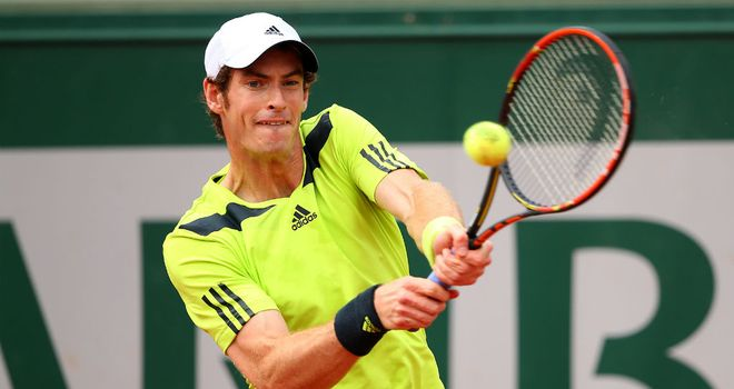 Andy Murray: Will play Gael Monfils in the quarter-finals at Roland Garros