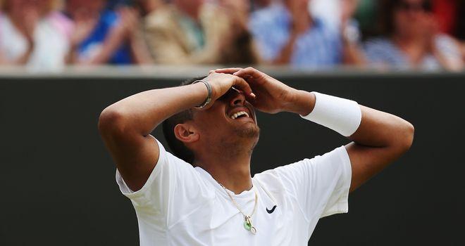 Nick Kyrgios: Saved nine match points before defeating Richard Gasquet at Wimbledon