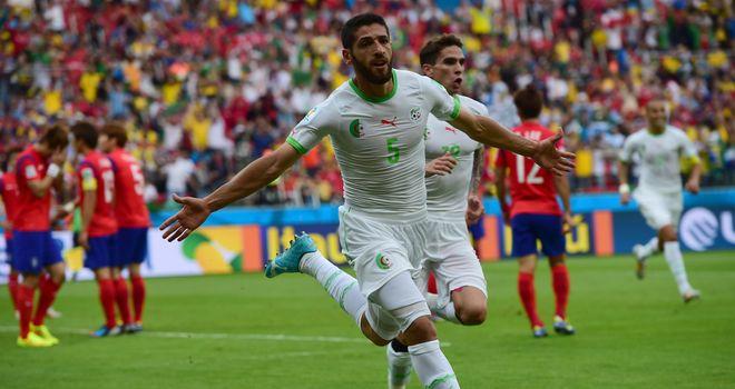 Rafik Halliche: Scored Algeria's second goal