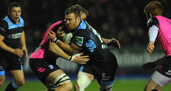 Tyrone Holmes; The Glasgow Warriors forward is eager to face his native South Africa.
