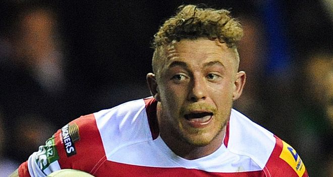 Josh Charnley: 12th try in six appearances since returning from injury