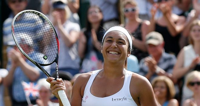 Heather Watson: Clinched an impressive victory over higher-ranked opponent