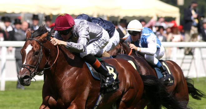 Toronado: Made a winning return to action in the Queen Anne Stakes