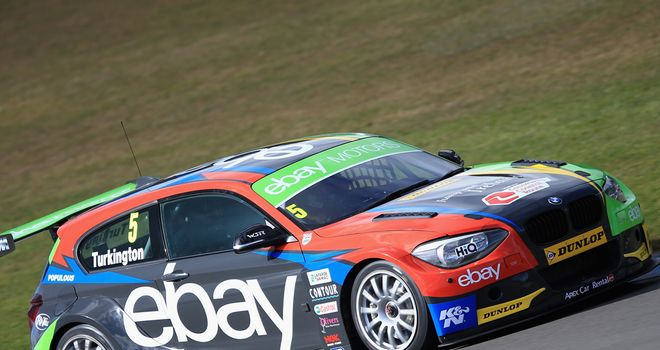 Colin Turkington: Recorded a double at Croft, winning from pole on both occasions