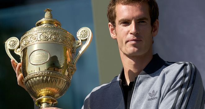 Andy Murray: Backed to defend Wimbledon title